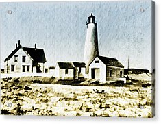 Great Point Lighthouse Nantucket Acrylic Print by Bill Cannon