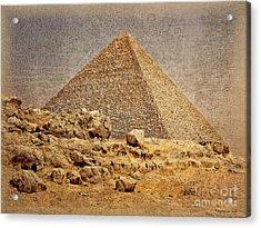 Great Pyramid Of Khufu Acrylic Print