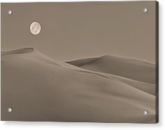 Great Sand Dunes Acrylic Print by Don Spenner