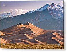 Great Sand Dunes Nat Park, Sangre De Acrylic Print