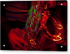 Acrylic Print featuring the photograph Great Sax by Alex Lapidus