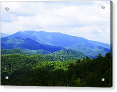 Great Smoky Mountains Acrylic Print by Christi Kraft