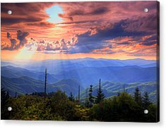 Great Smoky Mountains  Acrylic Print by Doug McPherson