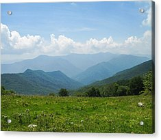Great Smoky Mountains Acrylic Print by Melinda Fawver