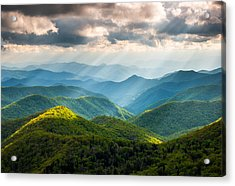 Great Smoky Mountains National Park Nc Western North Carolina Acrylic Print by Dave Allen