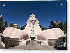 Great Sphinx Of Giza Luxor Resort Las Vegas Acrylic Print