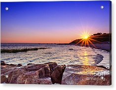 Acrylic Print featuring the photograph Saints Landing Cape Cod by Mike Ste Marie