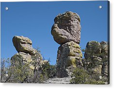 Great Stone Face Acrylic Print