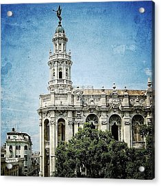great Theatre Of Havana (1838 - Acrylic Print