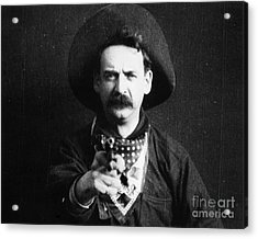 Great Train Robbery 1903 Acrylic Print by Granger
