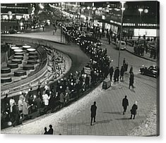 Great Vietnam-demonstration In Stockholm Acrylic Print by Retro Images Archive