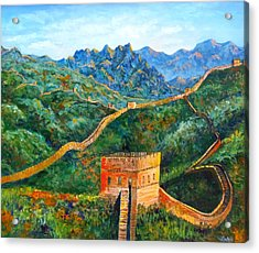 Great Wall Acrylic Print
