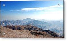 Great Wall Of China - Mutianyu Acrylic Print by Yew Kwang