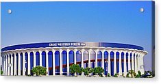 Great Western Forum, Home Of The La Acrylic Print