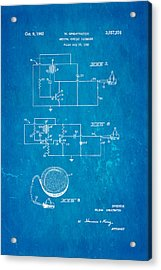 Greatbatch Cardiac Pacemaker Patent Art 1962 Blueprint Acrylic Print by Ian Monk
