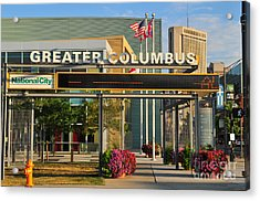 D8l-245 Greater Columbus Convention Center Photo Acrylic Print