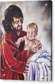 Greatest In The Kingdom Acrylic Print by Ilse Kleyn