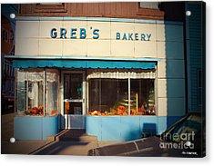Greb's Bakery Pittsburgh Acrylic Print