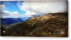 Greece Countryside Acrylic Print