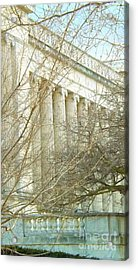 Greek Architecture Acrylic Print by Brigitte Emme