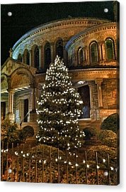 Greek Christmas Acrylic Print