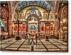 Greek Orthodox Cathedral Of Saint Paul Acrylic Print