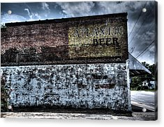 Greeleyville Atlantic Beer Acrylic Print by Bill Cantey