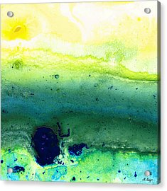 Green Abstract Art - Life Song - By Sharon Cummings Acrylic Print by Sharon Cummings