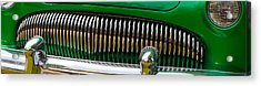 Acrylic Print featuring the photograph Green And Chrome Teeth by Mick Flynn