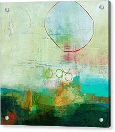 Green And Red 6 Acrylic Print by Jane Davies