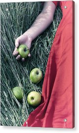 Green Apples Acrylic Print by Joana Kruse
