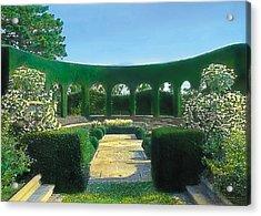 Green Arches Acrylic Print by Terry Reynoldson