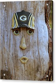 Green Bay Packer Humor Acrylic Print