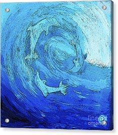 Green Dolphin Street Acrylic Print