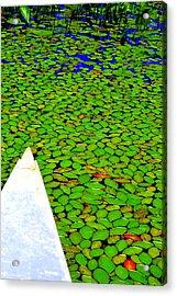 Green Dream Acrylic Print