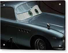 Green Eyed Finn Mcmissile Acrylic Print by Thomas Woolworth