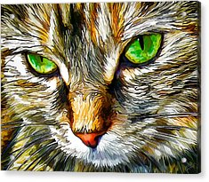 Green-eyed Monster Acrylic Print