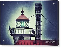 Acrylic Print featuring the photograph Green Fresnel Gleaming by Mark David Zahn Photography