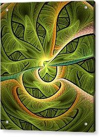 Green Hills Acrylic Print