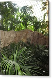 Acrylic Print featuring the photograph Green Interiors Vegas Casinos Resorts Hotels by Navin Joshi