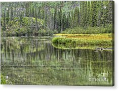 Green Lake Acrylic Print