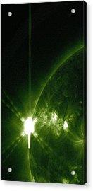 Green Light Go Acrylic Print by Sunny Day