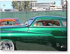 Green Merc Acrylic Print