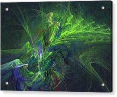 Green Metamorphosis Acrylic Print
