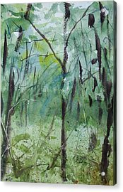 Green Morning 1 Acrylic Print