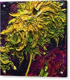 Green Mum Acrylic Print by Paris Wyatt Llanso