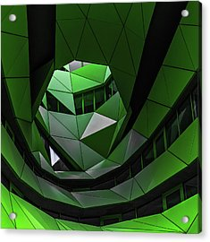 Green Offices Acrylic Print