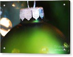 Green Ornament  Acrylic Print by Birgit Tyrrell