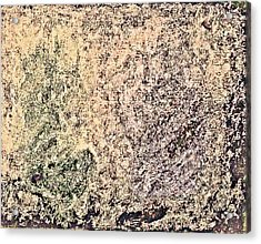 Green Purple Acrylic Print by Stanley Funk