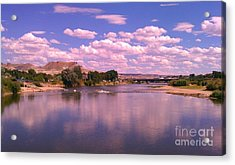 Acrylic Print featuring the photograph Green River by Chris Tarpening